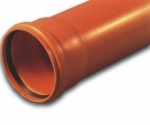 Труба ф. 110   - 2.0 м. (Солекс,оранжевая) -