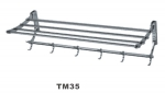 Полка для полотенца хром Oute TМ - 35 -