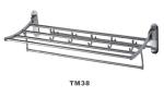 Полка для полотенца хром Oute TМ - 38 -