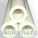 Труба ППР ф-63х10,5 простая белая ПОЛИТЭК -