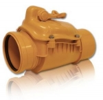 Обратный клапан ф-110 ПВХ - Страна производства Польша