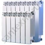 Радиатор биметаллический - 500/80/8 секций (BREM) -