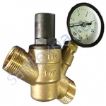 Редуктор снижение давления с манометром 1/2 TIM BL6823A -