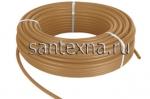 Сшитый полиэтилен PE-Xb с кислородным барьером Ø16x2.0 бронзовый цвет -