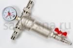 """Фильтр 1/2 """"SMS""""с манометром  для горячей воды"""