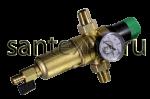 """Фильтр 1/2 """"TIМ"""" с регулятором давления с манометром для горячей воды"""
