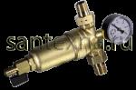 """Фильтр 1/2 """"TIМ""""с манометром  для горячей воды"""