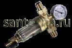 """Фильтр 1/2 """"TIМ""""с манометром для холодной воды"""