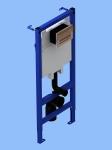 Система скрытой установки унитаза Ани WC1010