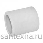 Муфта для полипропиленовых труб ф-20 Белая (ПОЛИТЭК)