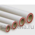 Труба ППР ф-50х8,3 армированная стекловалокном  ПОЛИТЭК