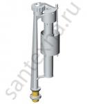 Клапан впускной, нижняя подводка  с металлической резьбой 1/2 Alca plast   Чехия