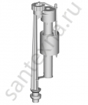 Клапан впускной, нижняя подводка 3/8 Alca plast  Чехия