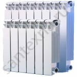Радиатор алюминиевый - 350/80/8 секций (FLY MAX)