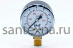 """Манометр """"SMT""""  10 бар вертикальный. 63 мм"""
