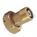 Комплект коннекторов для водосчётчика с обратным клапаном 3/4F*1/2M TIM