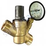 Редуктор снижение давления с манометром 1/2 TIM BL6823A