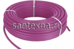 Сшитый полиэтилен PE-Xb, диаметр Ø16x2.8 с кислородным барьером PINK,
